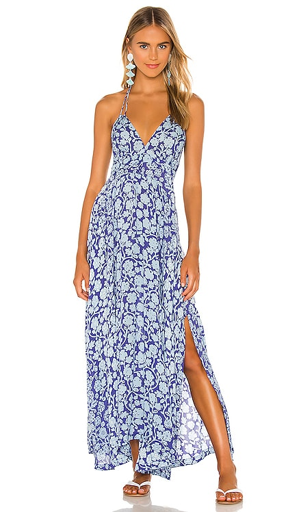 Ollie Maxi Dress Poupette St Barth $320