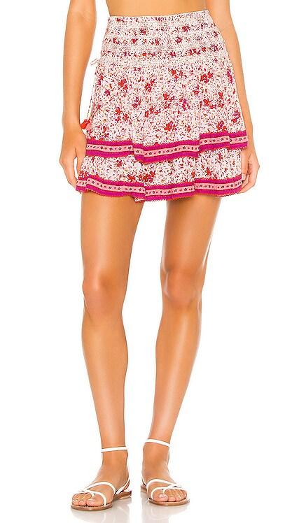 Kaila Mini Skirt Poupette St Barth $290