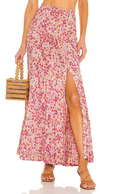 India Maxi Skirt Poupette St Barth $320 NEW