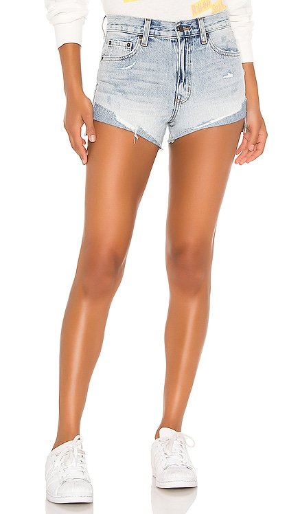 Kylee High Rise Cuffed Short PISTOLA $98