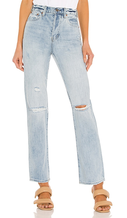 Cassie Super High Rise Straight PISTOLA $128 BEST SELLER
