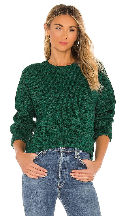 Eva Cropped Sweater PISTOLA $128 NEW