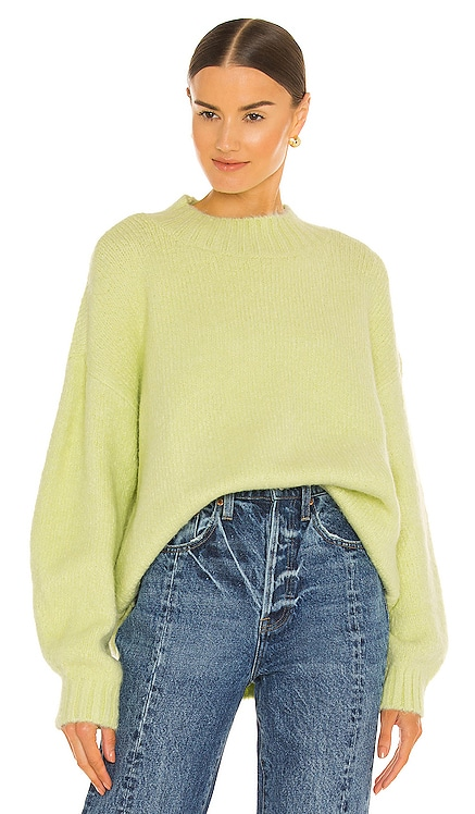 Carlen Mock Neck Sweater PISTOLA $128 NEW