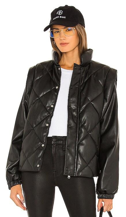 Callista Long Sleeve Puffer Jacket & Vest PISTOLA $228
