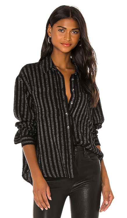 Carissa Oversized Pocket Dolman Shirt PISTOLA $108 NEW