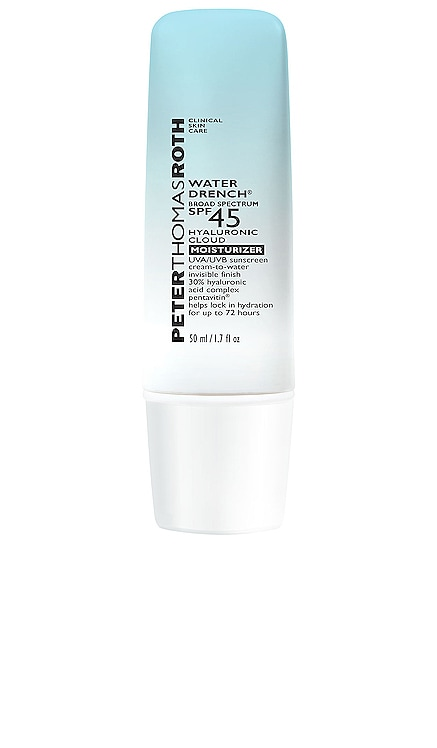 Water Drench Broad Spectrum SPF 45 Hyaluronic Sun Shield Peter Thomas Roth $52 BEST SELLER