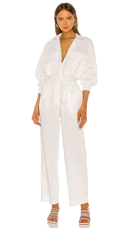 Oliver Jumpsuit Piece of White $675