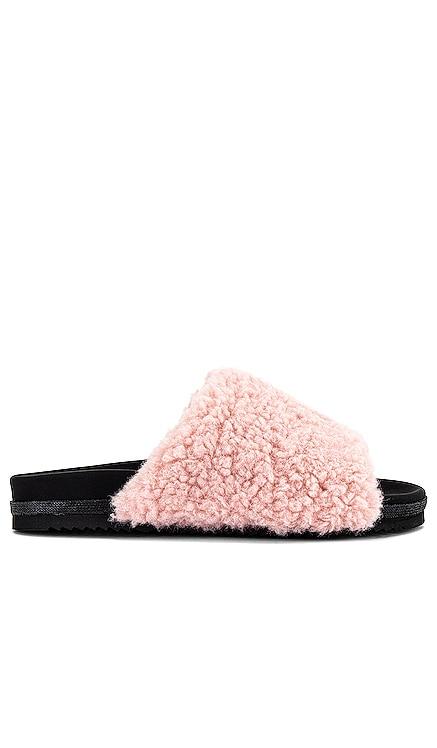 Fuzzy Faux Fur Slide R0AM $125
