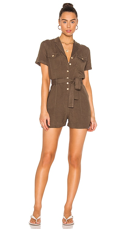 Georgie Romper Rails $188