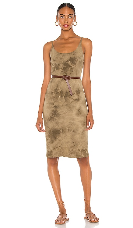 X REVOLVE Layer Tank Dress Raquel Allegra $220 NEW