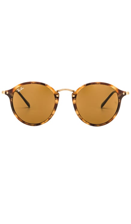 Round Fleck Ray-Ban $165 BEST SELLER