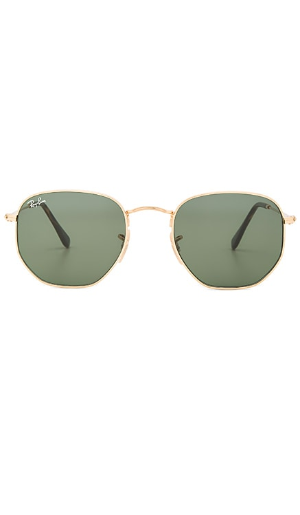 Hexagonal Flat Ray-Ban $154 BEST SELLER