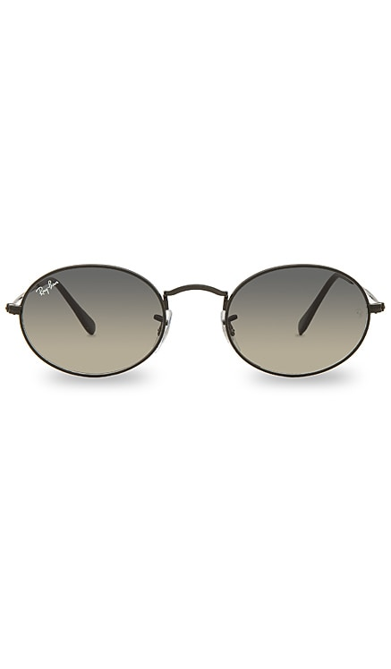 Oval Flat Ray-Ban $169 BEST SELLER