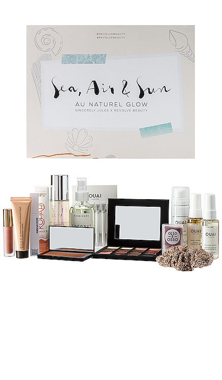 x Sincerely Jules Sea, Air, & Sun Au Naturel Glow REVOLVE Beauty $150