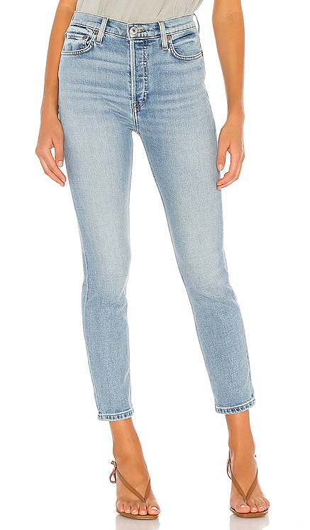 90s High Rise Ankle Crop RE/DONE $265