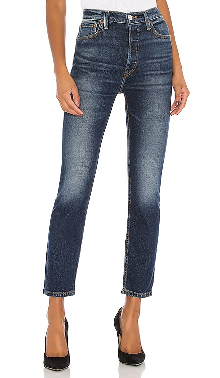 High Rise Ankle Crop RE/DONE $120