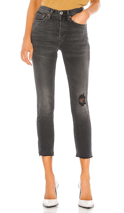 High Rise Ankle Crop RE/DONE $149