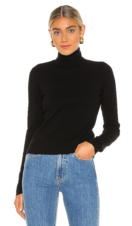 x Hanes 60s Mock Neck Long Sleeve Tee RE/DONE $130