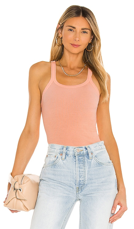x Hanes Ribbed Tank RE/DONE $115 BEST SELLER
