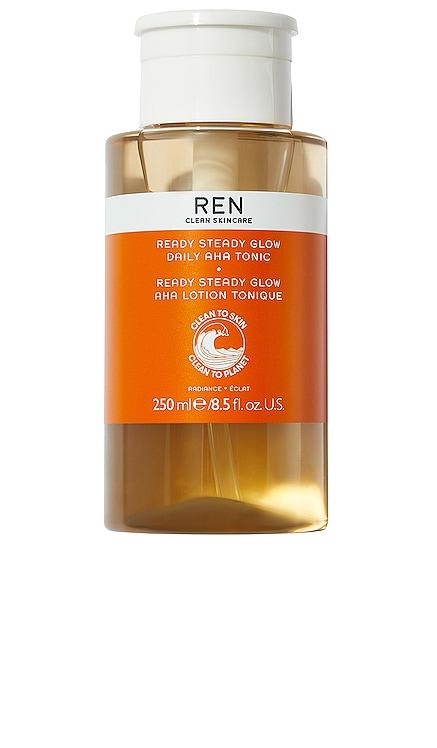LOTION TONIQUE QUOTIDIENNE À L''AHA READY, SET, GLOW REN Clean Skincare $38