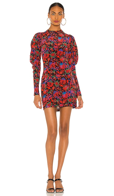 Stephanie Printed Mini Dress Rag & Bone $495 NEW