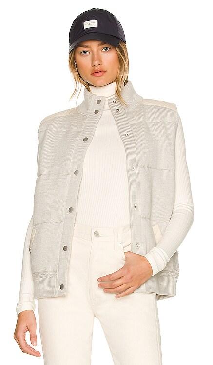 Mikaela Mixed Media Vest Rag & Bone $395 NEW