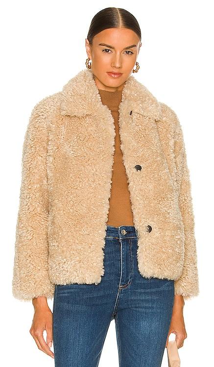 Hesper Faux Fur Coat Rag & Bone $550 NEW