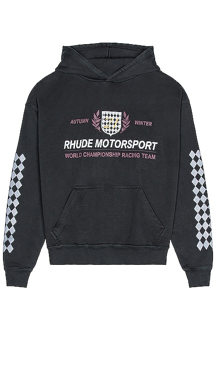 Motor Crest Hoodie Rhude $640 NEW