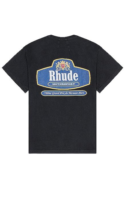 RACING CREST 티셔츠 Rhude $221 NEW