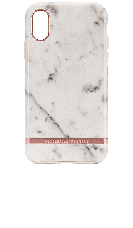 White Marble & Rose iPhone X/XS Case Richmond & Finch $46 BEST SELLER