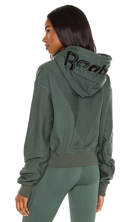 Cropped Hoodie Reebok x Victoria Beckham $200 NEW