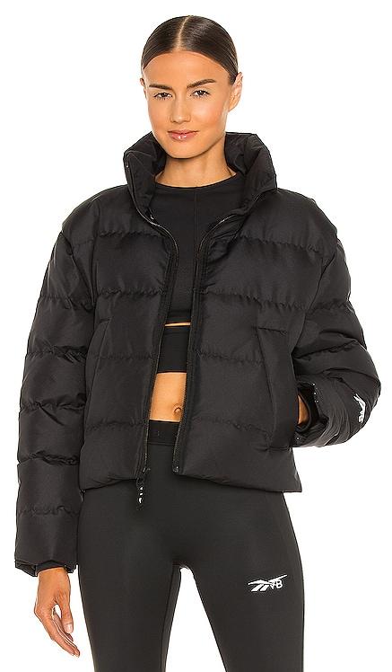 Cropped Puffer Jacket Reebok x Victoria Beckham $280 NEW