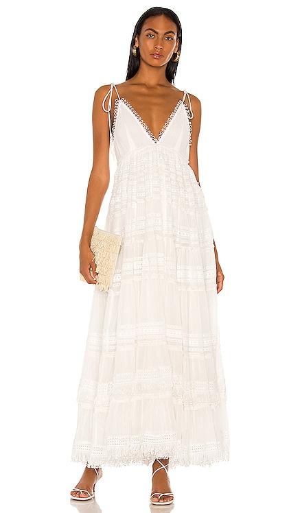 Cia Maxi Dress ROCOCO SAND $595 NEW