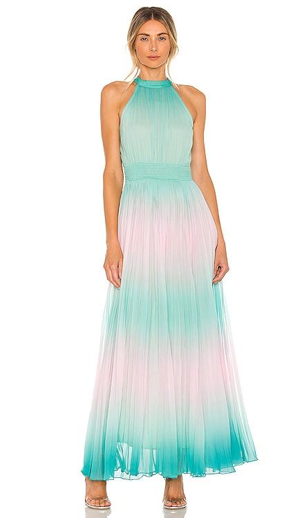 X REVOLVE Emi Dress ROCOCO SAND $396