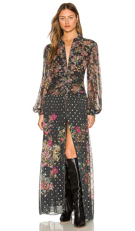 Jane Shirt Maxi Dress ROCOCO SAND $450 NEW