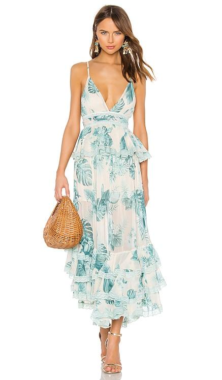 Echo Maxi Dress ROCOCO SAND $218