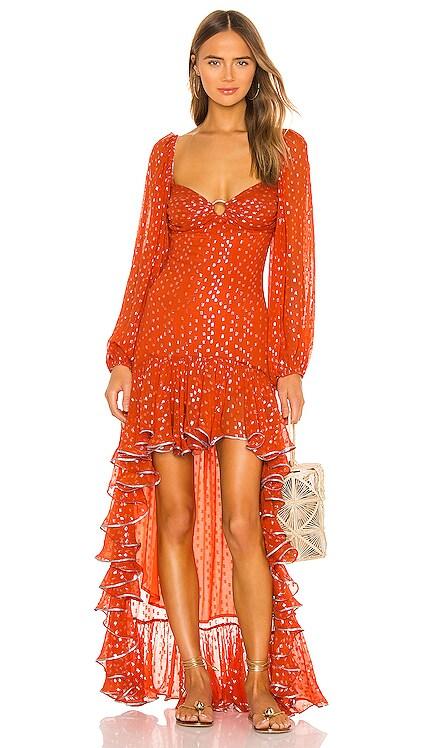 Iris Dress ROCOCO SAND $495 NEW