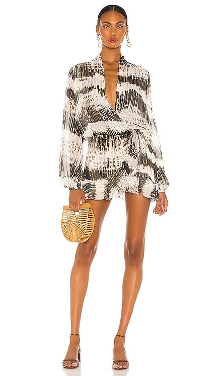 X Revolve Ilios Dress ROCOCO SAND $331 BEST SELLER
