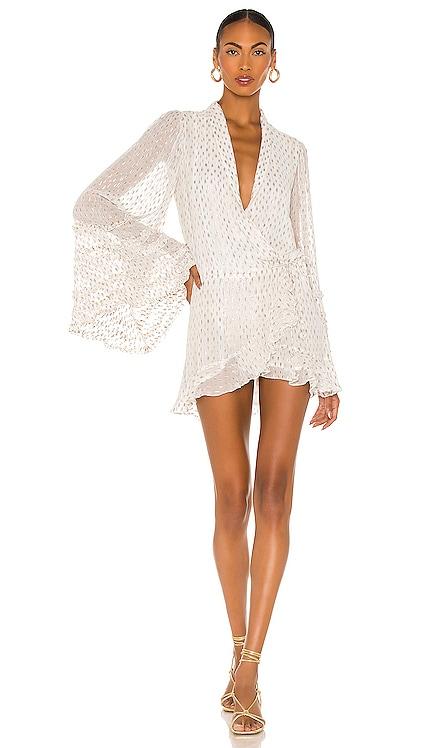 Noi Mini Dress ROCOCO SAND $325 NEW
