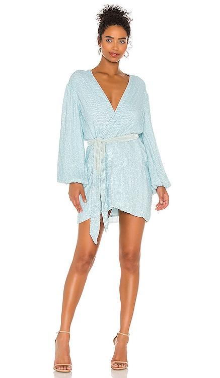 Gabrielle Robe Dress retrofete $635 NEW