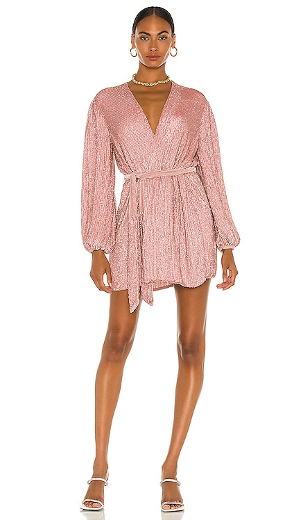 Gabrielle Robe Dress retrofete $635 NEW