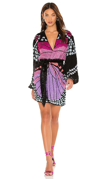 Gabrielle Robe retrofete $995 NEW
