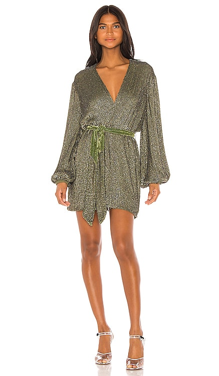 Gabrielle Robe Dress retrofete $431