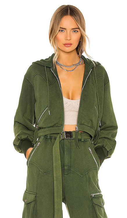 Washed Terry Hoodie retrofete $221