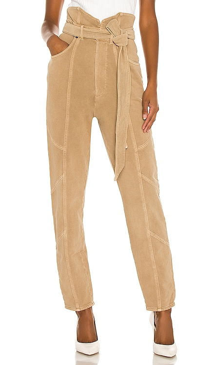Washed Terry Pant retrofete $345
