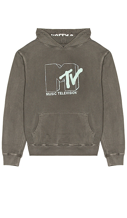 MTV Washed Black Hoodie ROLLA'S $99 NEW