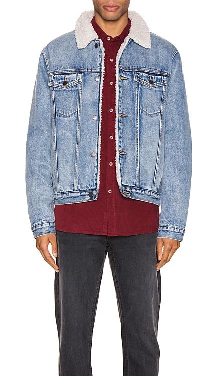 Denim Sherpa Jacket ROLLA'S $179