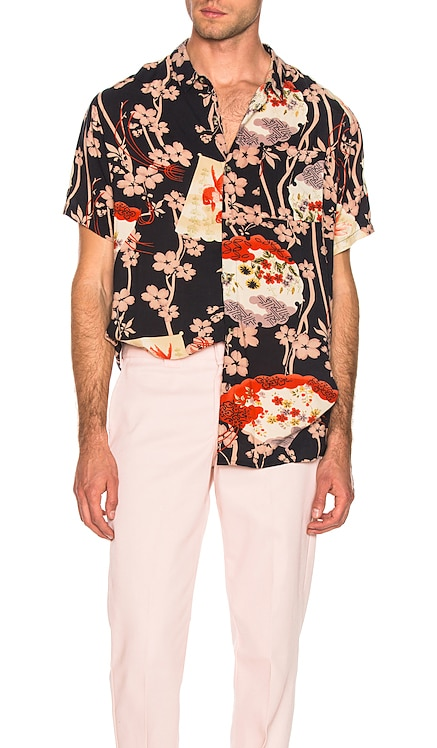 Bon Gold Fish Shirt ROLLA'S $69 NEW