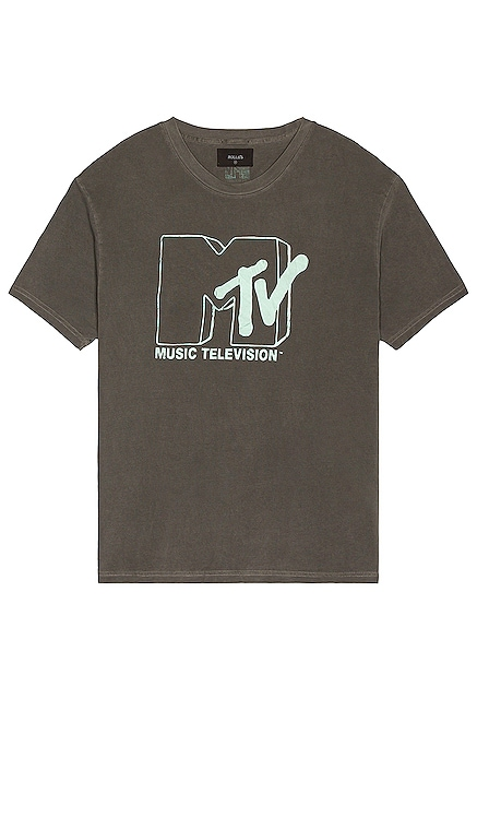 MTV Glow Logo Tee ROLLA'S $59 NEW
