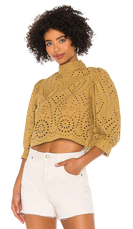 Stephanie Lace Blouse ROLLA'S $109 NEW